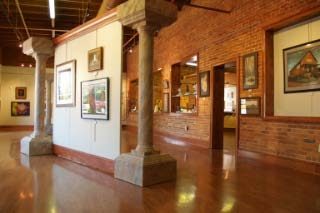 Inside arts clayton gallery